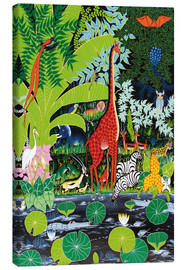 Tableau sur toile  Wildlife at the bottom - Issa