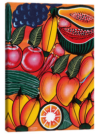 Tableau sur toile  Exotic Fruits All kinds of - Chilambo