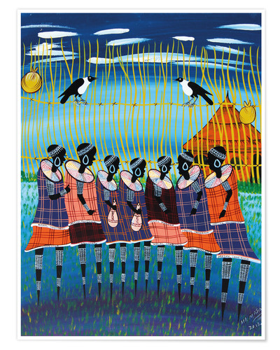 Poster The tribal meeting