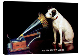 Tableau sur toile  Gramophone de Victor - Advertising Collection