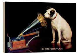 Bois  Victor Grammophon   His master's voice