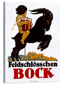 Tableau sur toile  Feldschlösschen Bock - Advertising Collection