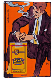 Tableau sur toile  Reval Naturrein Cigaretten - Advertising Collection