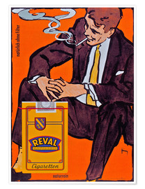 Poster  Reval Naturrein Cigaretten - Advertising Collection