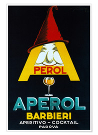 Poster  Aperol Barbieri - Advertising Collection