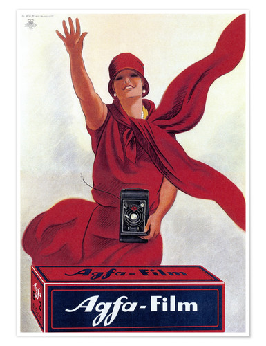 Poster Agfa Film