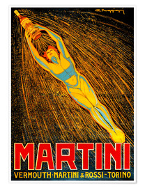 Poster  Vermouth-Martini - Advertising Collection