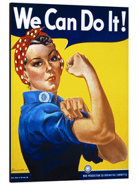 Tableau en aluminium  We Can Do It - Advertising Collection