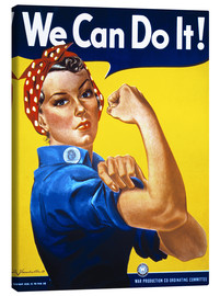 Tableau sur toile  We Can Do It - Advertising Collection