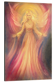 Alu-Dibond  Angel Light Love - Paintings - Marita Zacharias