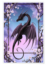 Poster  Dragon de printemps - Susann H.