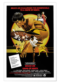 Poster  Game of Death (anglais) - Entertainment Collection