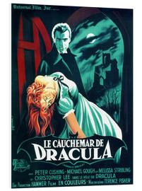 Tableau en PVC  Le Cauchemar de Dracula - Entertainment Collection