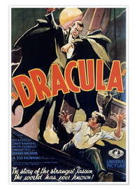 Poster  Dracula (anglais) - Entertainment Collection