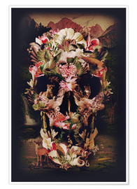 Poster  Jungle Skull - Ali Gulec