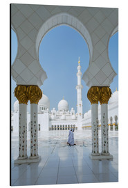Alu-Dibond  Sheik Zayed Grand Mosque, Adu Dhabi, Emirates - Matteo Colombo