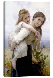 Tableau sur toile  Not hard to bear - William Adolphe Bouguereau
