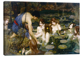 Tableau sur toile  Nymphes - John William Waterhouse