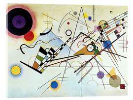 Verre acrylique  Composition no. 8  - Wassily Kandinsky
