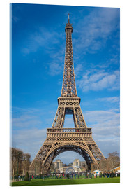 Verre acrylique  La Tour Eiffel de Paris - Fine Art Images