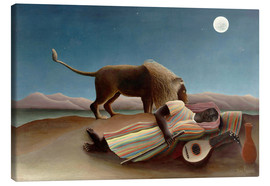 Toile  The Sleeping Gypsy - Henri Rousseau