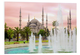 Forex  the blue mosque (magi cami) in Istanbul / Turkey (vintage picture) - gn fotografie
