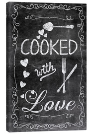 Toile  Cooked with Love - Andrea Haase