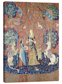 Toile  The Lady with the Unicorn: Allegory of the smell