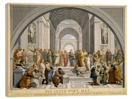 Bois  School of Athens (after Raphael) to 1771-79 - Giovanni Volpato