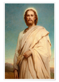 Poster  Christ in the cornfield - Thomas-Francis Dicksee