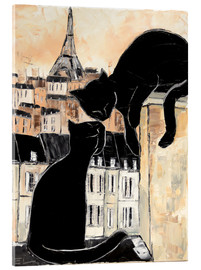 Verre acrylique  Cats whispers - JIEL