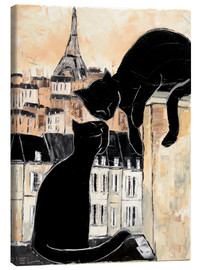Toile  Cats whispers - JIEL