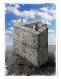 Poster  Penrose stairs - Dieter Ziegenfeuter