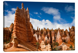 Toile  Queen's garden trail at Bryce Canyon - Circumnavigation