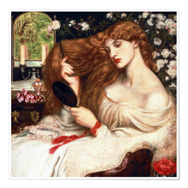 Poster  Lady Lilith - Dante Charles Gabriel Rossetti