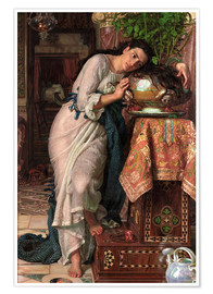 Poster  Isabella and the Pot of Basil  - William Holman Hunt