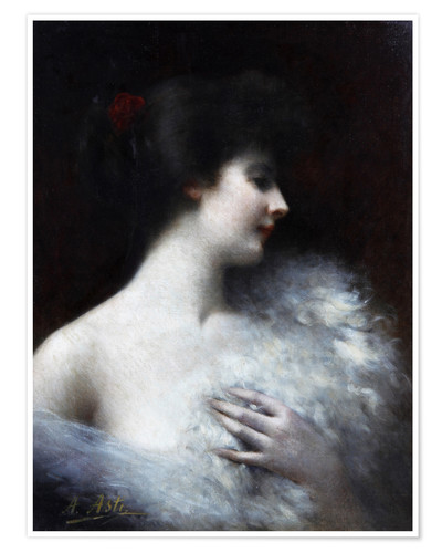 Poster Portrait of a lady of Belom