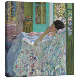 Toile  Afternoon, Yellow Room - Frederick Carl Frieseke