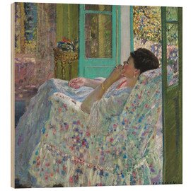 Bois  Afternoon, Yellow Room - Frederick Carl Frieseke