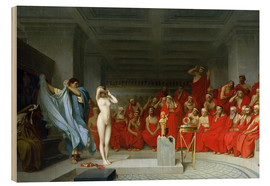 Bois  Phryne before the Areopagus - Jean Leon Gerome