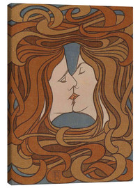 Toile  The Kiss - Peter Behrens