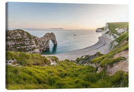 Tableau sur toile  Durdle Door at the Jurassic Coast (England) - Christian Müringer