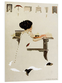 Tableau en PVC  Know all men by these presents - Clarence Coles Phillips
