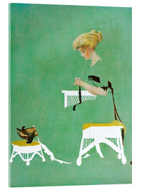 Verre acrylique  Home ties - Clarence Coles Phillips