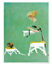 Poster  Home ties - Clarence Coles Phillips