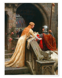 Poster  God Speed! - Edmund Blair Leighton