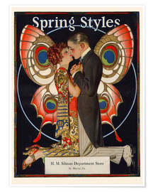 Poster  Mode de printemps 1924 (anglais) - Joseph Christian Leyendecker