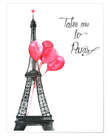 Poster  Take me to Paris - Rongrong DeVoe