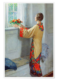 Poster  New day - William Henry Margetson