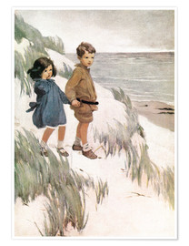 Poster  Baa Baa Black Sheep - Jessie Willcox Smith